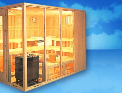 Sauna Acristalada